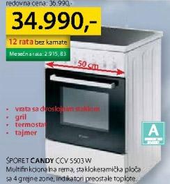 Šporet Ccv5503w