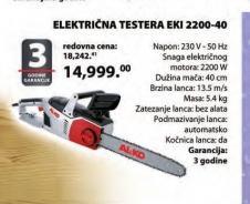 Testera EKI 2200/40