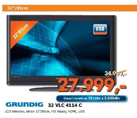 LCD televizor 32 VLC 4114 C