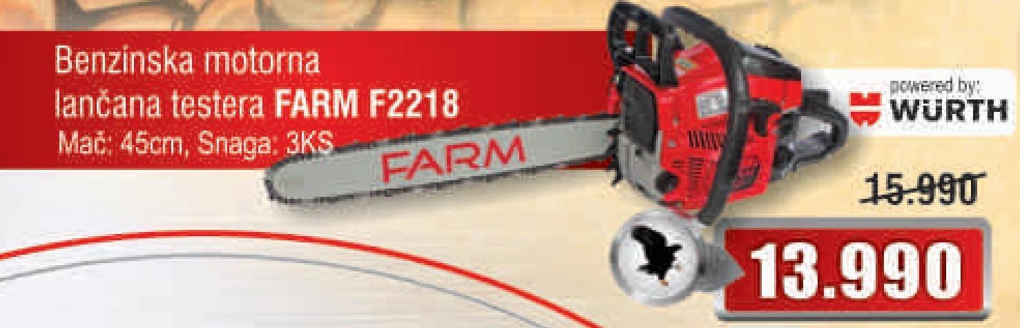 Motorna testera F2218