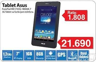 Tablet FonePad Me175cg-1b008a
