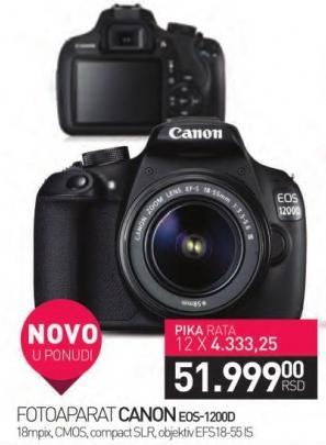 Digitalni fotoaparat EOS1200D