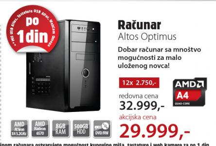 Desktop računar Altos Optimus