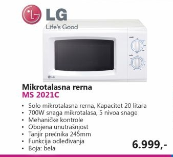 Ms-2021C Mikrotalasna