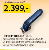 Trimer  QC5125/15
