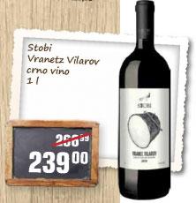 Crno vino Vranetz Vilarov