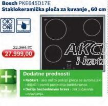 Staklokeramička ploča za kuvanje PKE645D17E