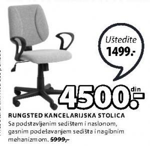 Kancelarijska stolica Rungsted