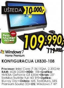 Konfiguracija LX830-108