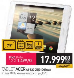 Tablet A1-830-25601g01nsw