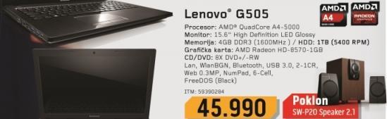 Laptop G505 59390284