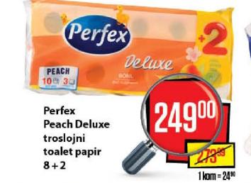 Toalet papir Peach Deluxe
