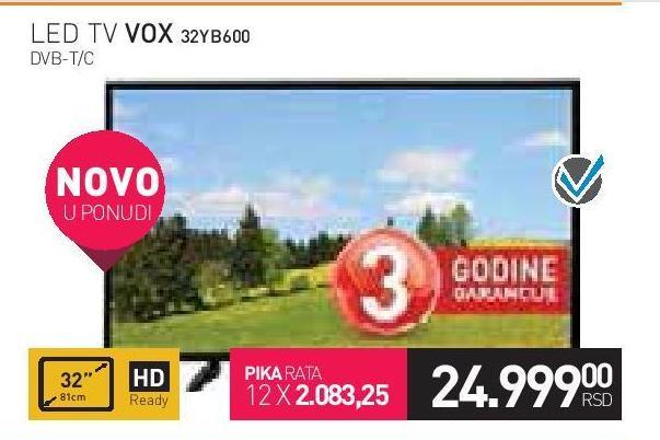"""Televizor LED 32"""" 32B600"""