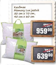 Memory lux jastuk 40 X 60 cm