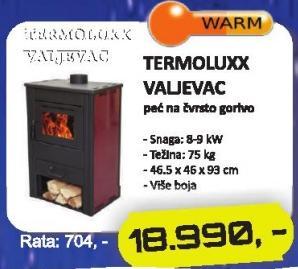 Peć Termoluxx Valjevac