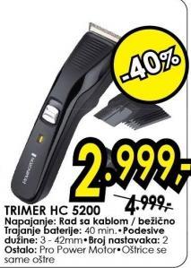 Trimer Hc 5200
