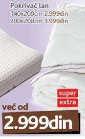 Pokrivač Lan 200x200 Vitapur