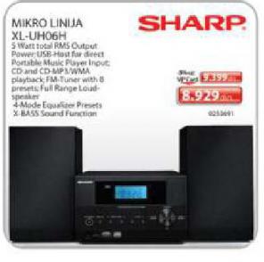 Mikro Linija XL-UH06H Sharp