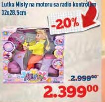 Igračka lutka Misty