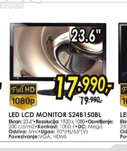 Monitor S24B150BL