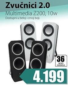 Zvučnici 2.0 Z200