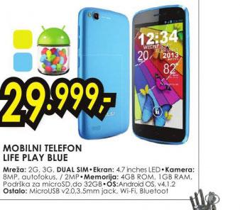 Mobilni telefon LIFE PLAY BLUE