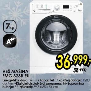 Hotpoint Mašina Za Pranje Veša FMG823BEU