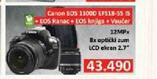 Digitalni fotoaparat EOS 1100D EFS18-55 IS