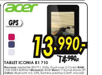 Tablet Iconia B1-710