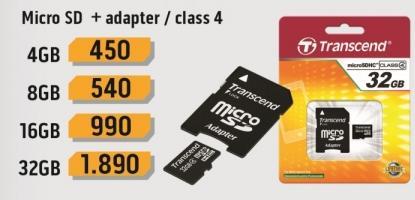 Micro SD 8GB sa adapterom