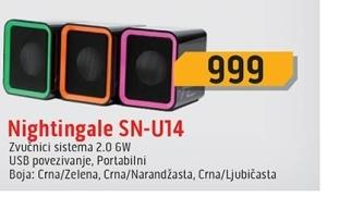 Zvučnici SN-U14/BG