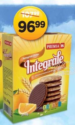 Keks integralni čokolada i narandža