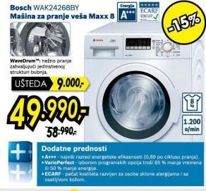 Mašina za pranje veša Wak24268by
