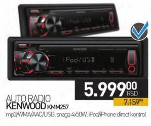 Auto radio Kmm257