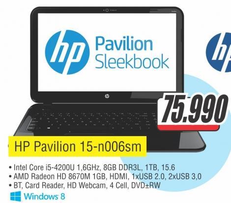 Laptop Pavilion 15-n006sm