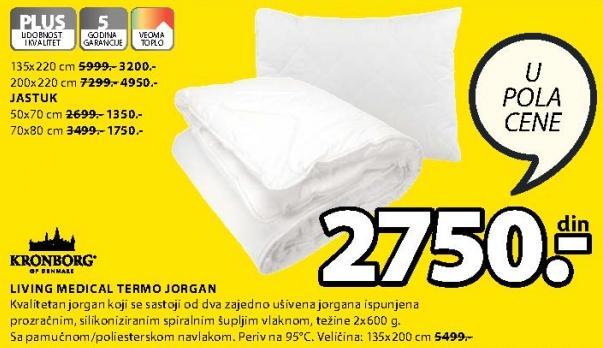 Jorgan Termo Living Medical 135x200cm