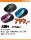 Miš Jetion DMS-075 plavi