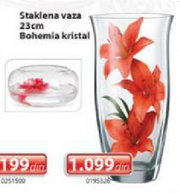 Staklena vaza