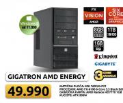 Desktop računar GIGATRON AMD ENERGY 6
