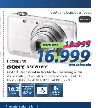 Fotoaparat DSCWX60W