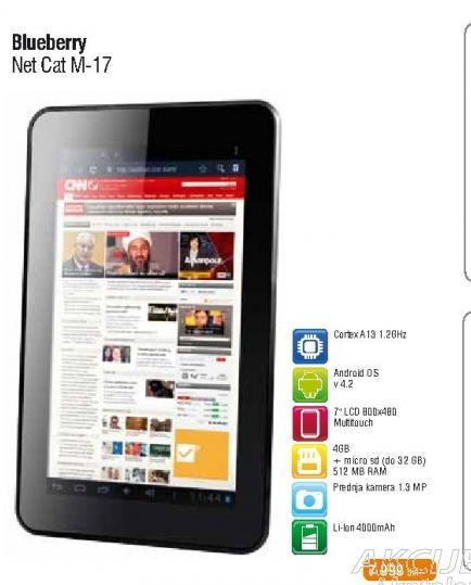 Tablet Net Cat M17