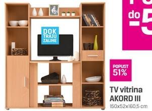 TV vitrina AKORD III