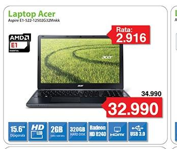 "Laptop Aspire E1-522-12502G50Dnkk 15.6"""