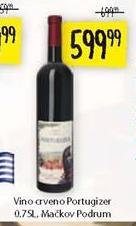Crno vino Portugizer