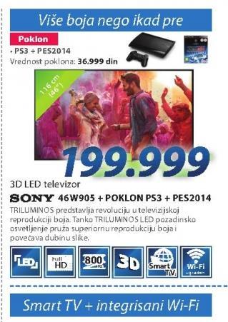 Televizor KDL46W905
