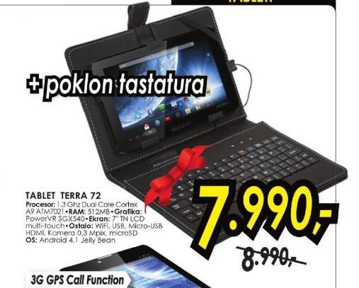 Tablet TERRA 72