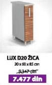 Kuhinjski element LUX D20 žica