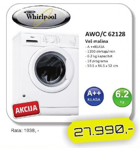 Mašina za veš AWO/C 62128