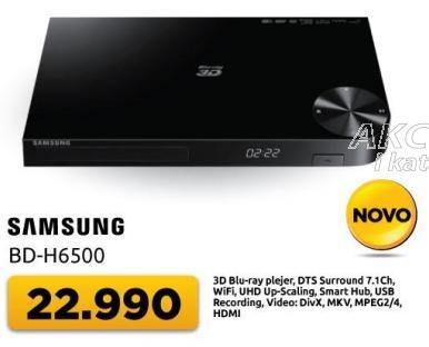Blu-ray plejer 3D Bd-h6500