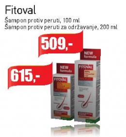 Šampon protiv peruti za održavanje Fitoval